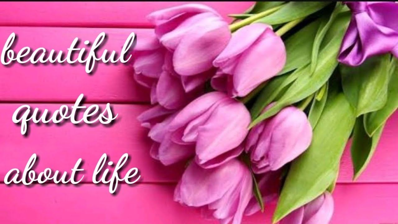 Beautiful words about life youtube beautiful words about life izmirmasajfo