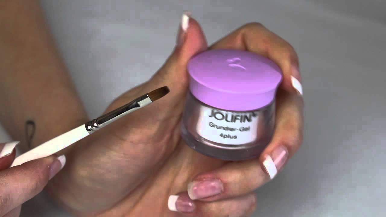 Do It Yourself French Nails Gelnägel Selber Machen Youtube