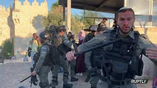 Arrests as Israeli forces clash with Palestinian protesters near Damascus Gate