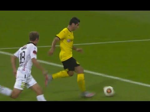 Assist Mkhitaryan To Hofmann I Wolfsberger - Borussia Dortmund 0-1| 30/07/15 I Голевой пас Мхитаряна