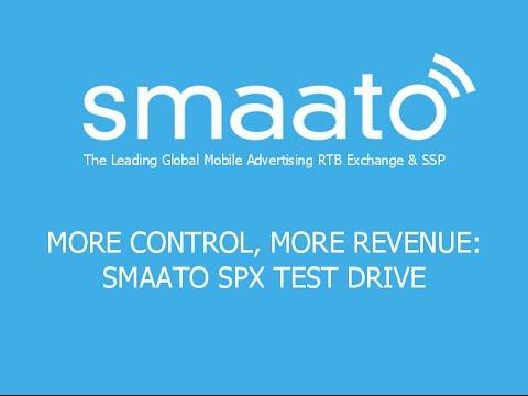 Webinar | More Control, More Revenue:  Smaato SPX Test Drive