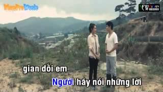 Loi Noi Doi Khong That Karaoke]  Pham Truong ft Ly Hai beat  YouTube