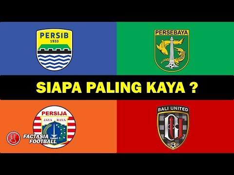 Klub Terkaya di Indonesia Liga 1 2019