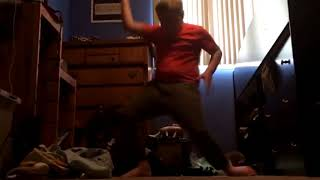 orange shirt kid should've won the boogiedown dance  challenge.