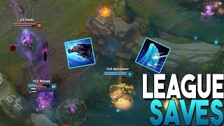SAVES MONTAGE - Unbelievable Save Moments | League of Legends Montage