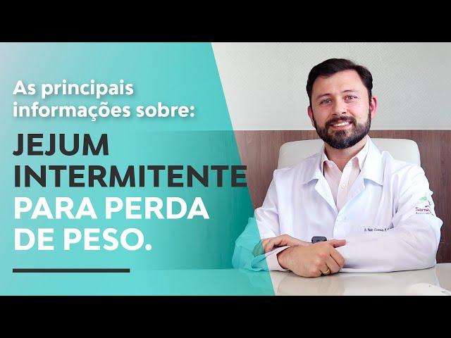 Jejum intermitente para perda de peso  | Dr. Paulo Gustavo Ribeiro