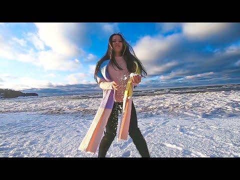 А я девушка - ЗИМА. Красивое видео с GoPro7