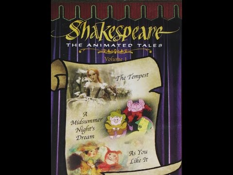Shakespeare: The Animated Tales : A Midsummer Night's Dream