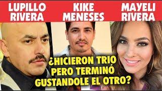 Lupillo Rivera hizo un  T R I 0  con su esposa pero a ella le gustó más el otro