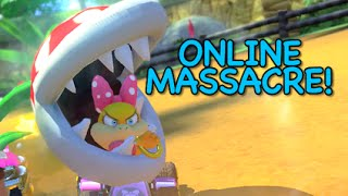 I KILLED EVERYONE! [MARIO KART 8] [ONLINE]