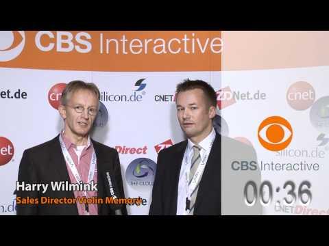 Harry Wilmink und Volker Wester (Violin Memory, FrankfurtNet) - CBS Interactive - One Minute Pitches