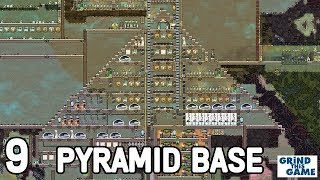 SLIME CONVEYORS & WATER COOLING - PYRAMID BASE #9 - Oxygen Not Included -  Occupational Upgrade by Grind This Game