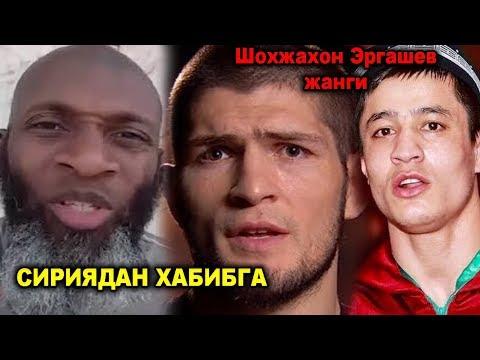 Хабибга сирияликлардан мурожат / Флойд жанга / Шохжахон Эргашев жанги