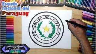 Cómo dibujar y pintar el escudo Nacional del Paraguay