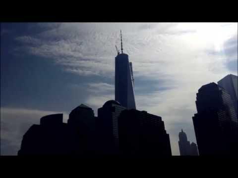 New York: Manhattan vista dal New Jersey