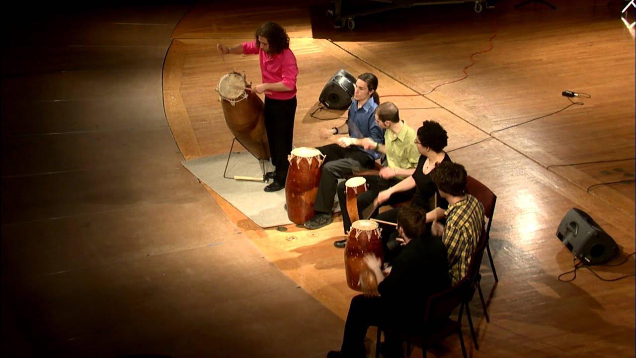 West African Gahu Drumming Troupe - arr  McConnell - Gahu Drumming