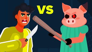 YOU vs PIGGY - Can You Defeat and Survive This Roblox Monster