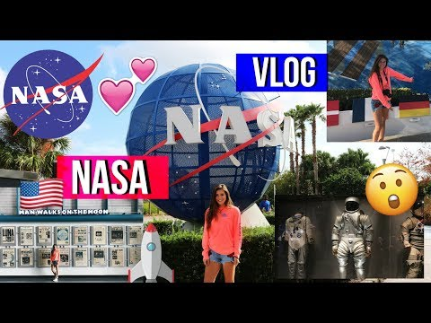 NASA / KENNEDY SPACE CENTER VLOG// AUSLANDSJAHR USA 2017/18