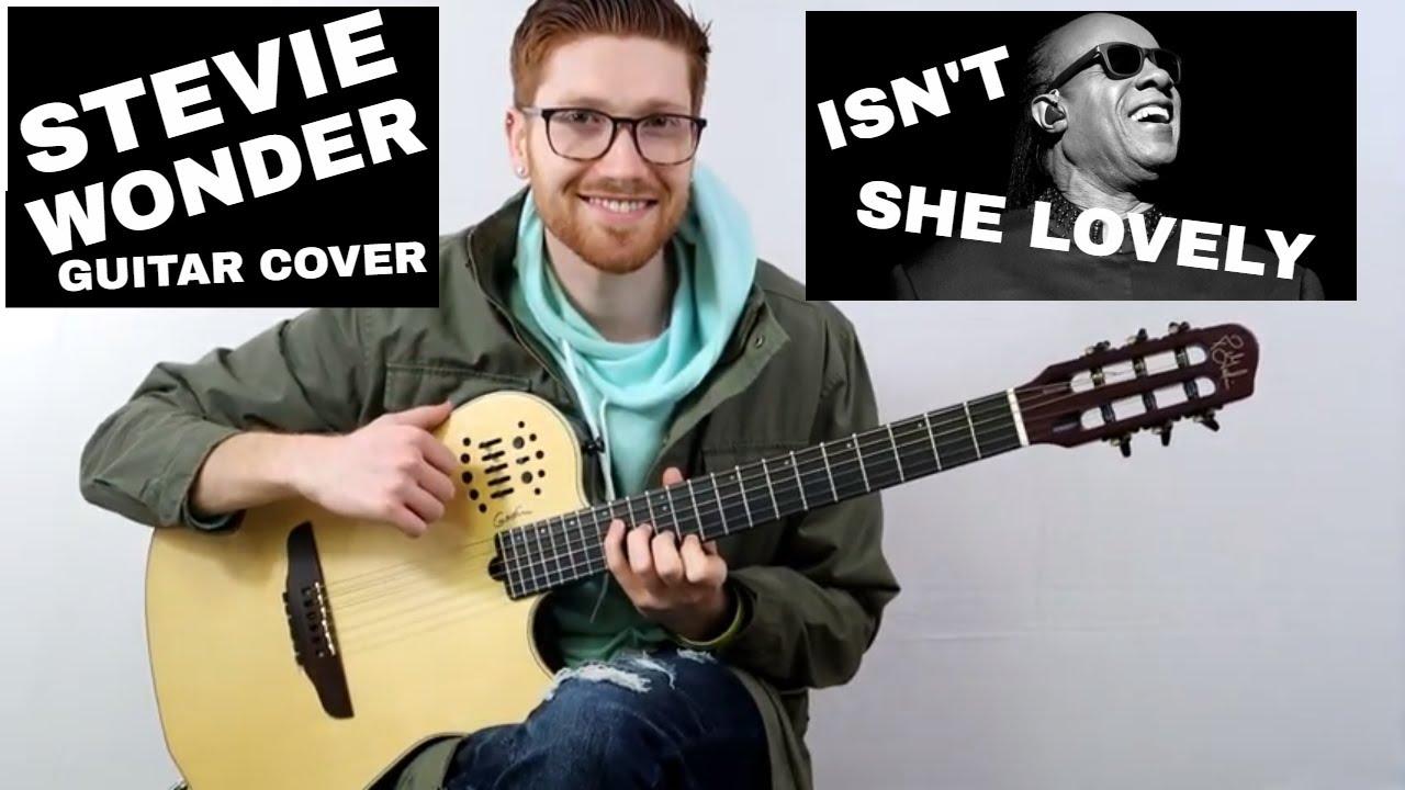 Isn't she Lovely | Stevie Wonder | Solo Guitar Cover