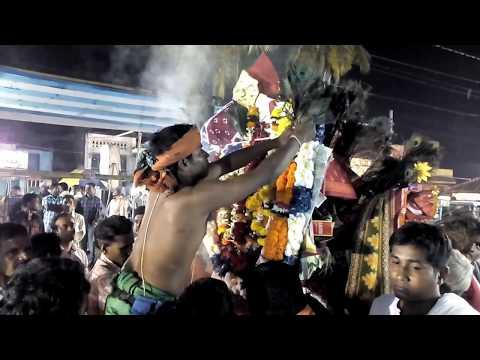 Yatra || thakurani festival || bagho nacho // tiger bull fight//navadurga nacho