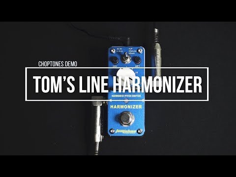 Toms Line Pedals | AHAR-3 Harmonizer | Playthrough (Harmonist Pitch Shifter)
