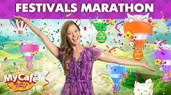 My Cafe Festivals Marathon April 2020