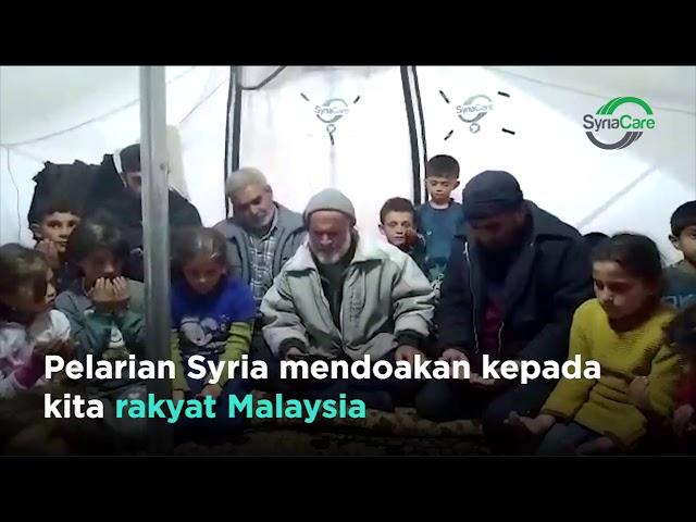 Covid-19 : Doa pelarian Syria buat Malaysia