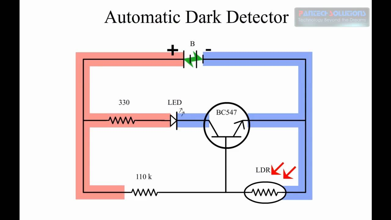 Automatic Dark Detector - Paper Electronics - YouTube