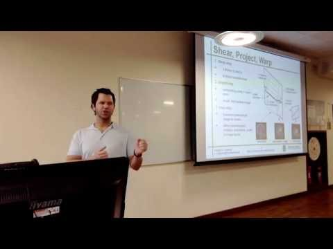 Visualization Lecture 11: VolVis Part 5-The Shear Warp Algorithm, Run Length Encoding