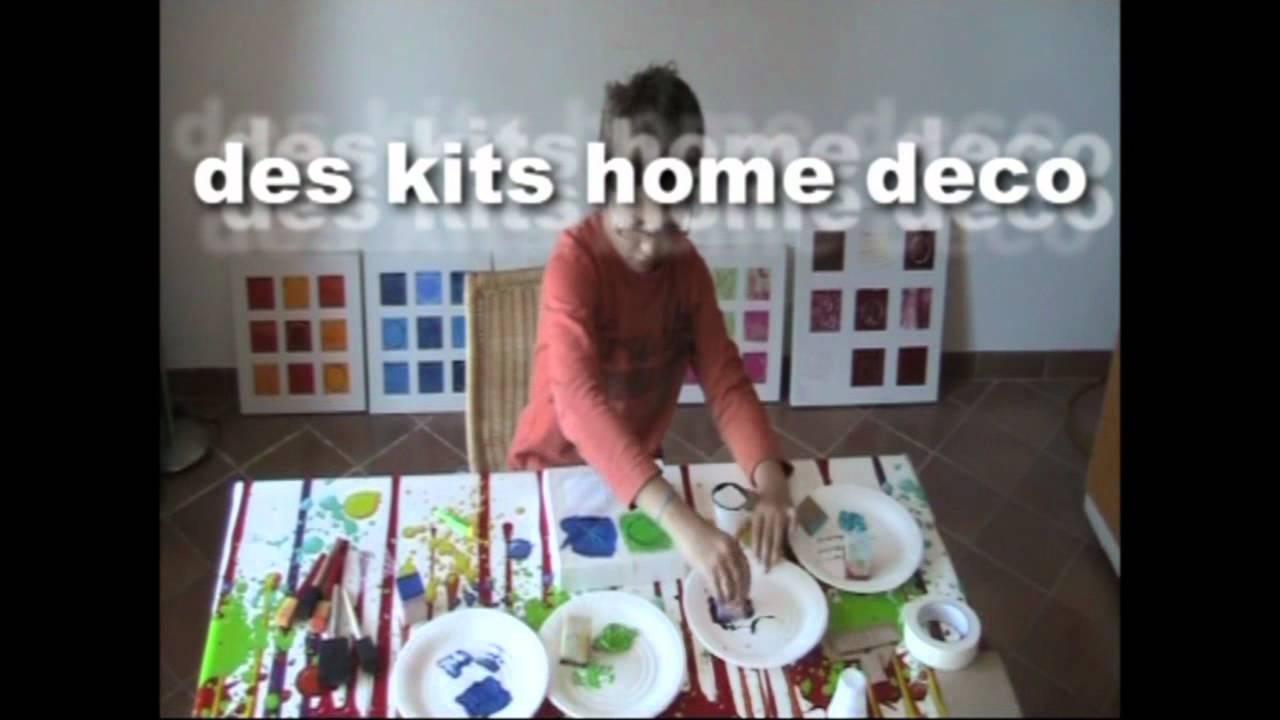 Initiation peinture sur toile youtube for Peinture sur toile
