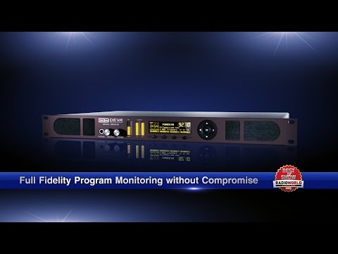 DB3010 - FM Radio & IP Audio Confidence Monitoring Receiver