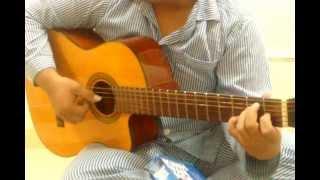 Nụ cười trong mắt em (guitar) + Sáo Mông - cover by 2 chàng Công An nằm viện :)
