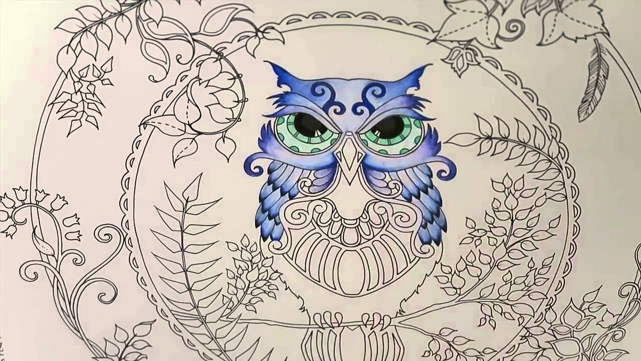 Enchanted forest coloring book website - Enchanted Forest Coloring Book Website 22