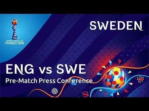 ENG v. SWE - Sweden Pre-Match Press Conference