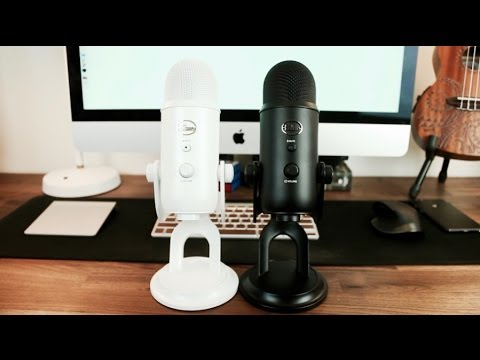 blue yeti whiteout vs blackout usb microphone review youtube. Black Bedroom Furniture Sets. Home Design Ideas