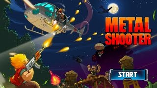 metal Shooter: Super Commando - Gameplay (ios, ipad) (ENG)