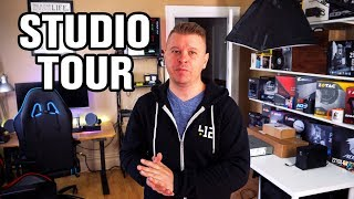 Home Studio Tour 2017