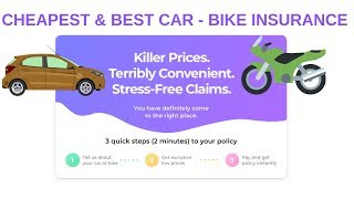 Best Car & Bike Insurance Policy : How to select 2019
