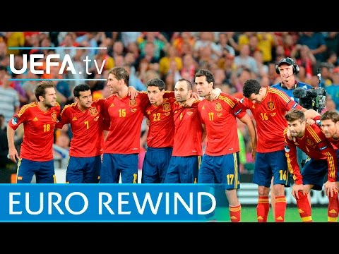 Portugal v Spain  The full EURO 2012 penalty shootout