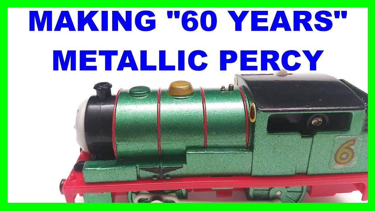 Making custom 60 years Percy Trackmaster Thomas & friends Thomas y sus amigos 托馬斯和朋友 Томас и друзья