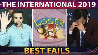 The BEST Fails and FUNNIEST Moments of The International 2019 - Group Stage Dota 2 #TI9