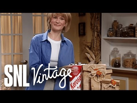 Martha Stewart on Halloween  SNL