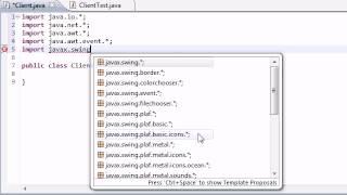 Intermediate Java Tutorial - 49 - Beginning the Client Messaging System
