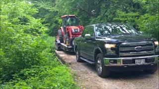 2016 Ford Ecoboost Real world testing-towing 11k up steep gravel road
