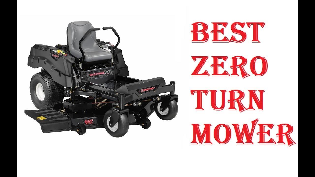 Best Zero Turn Mower 2019 Youtube
