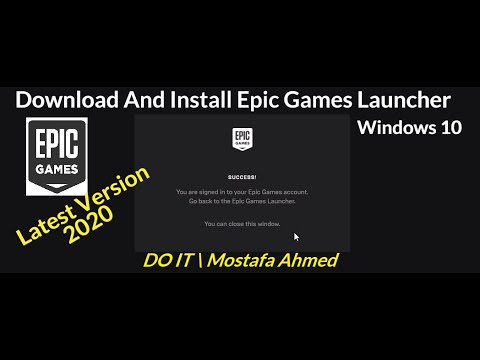 Download And Install Epic Games Launcher On Windows 10 ...