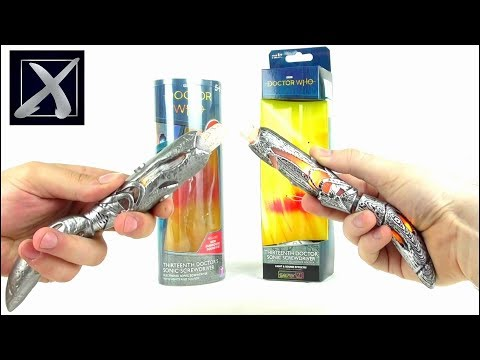 DOCTOR WHO 13th Doctor Sonic Screwdriver (Se7en20 Vs Character) Review | Votesaxon07