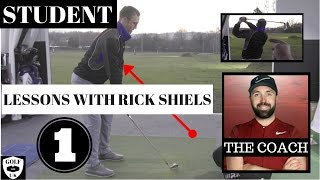 MY GOLF LESSON WITH RICK SHIELS # LESSON 1