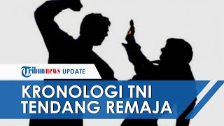 Kronologi Oknum TNI Tendang Kepala Remaja di Bontang hingga Pecah Pembuluh Darah