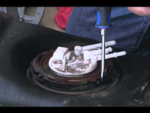 Removing An Old Fuel Pump - YouTube